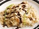 Рецепта Варено пилешко филе със сметана и целина